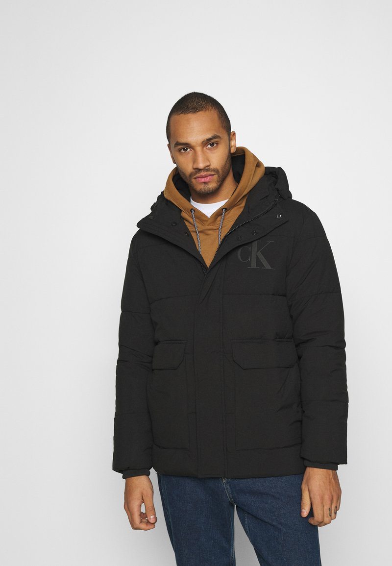 Calvin Klein Jeans - ECO JACKET - Winter jacket - black