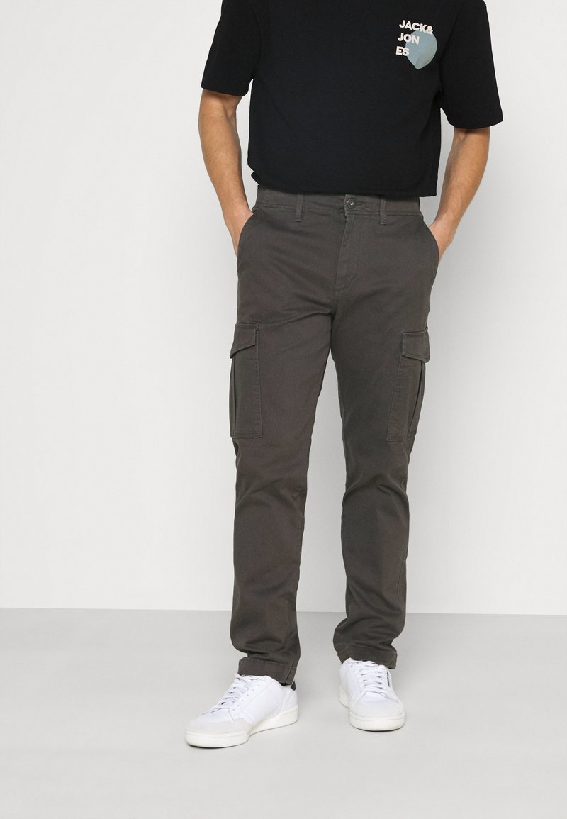 Jack & Jones - JJIROY JJJOE - Pantaloni cargo - dark grey
