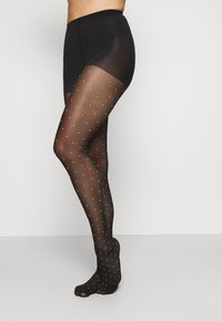 DIM - FANCY POP DOTS TIGHT STYLE - Tights - black/white - 1