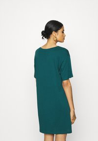 Even&Odd - Jersey dress - deep teal - 2