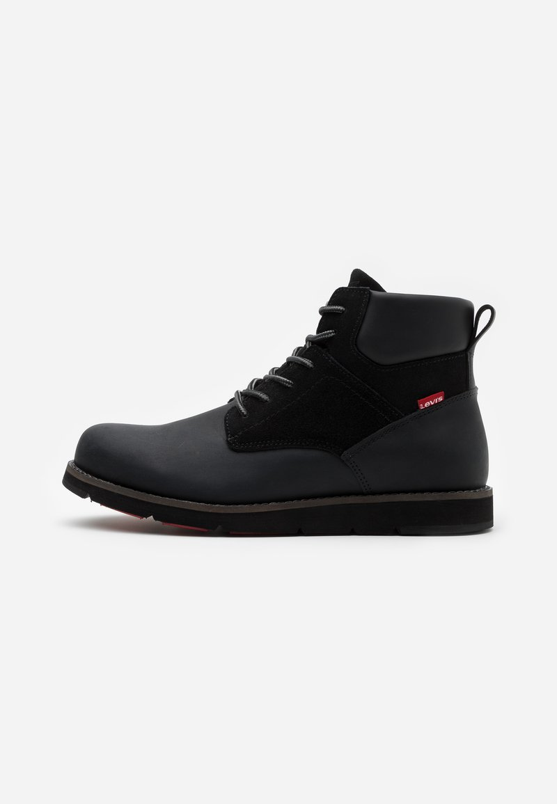 Levi's® - JAX PLUS - Šněrovací kotníkové boty - brilliant black