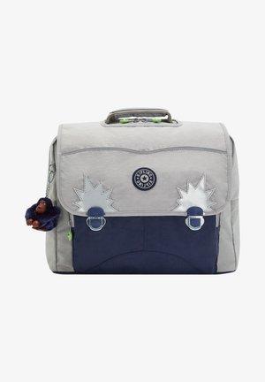 BACK TO SCHOOL INIKO - School bag - playful grey