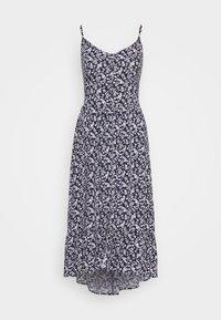 Hollister Co. - BARE MIDI DRESS - Vestido informal - blue - 0
