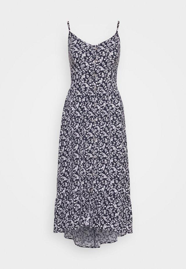 BARE MIDI DRESS - Day dress - blue