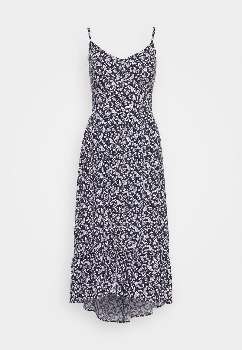 Hollister Co. - BARE MIDI DRESS - Vestido informal - blue