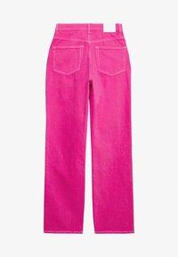 Weekday - ROWE - Jeans Straight Leg - cerise pink - 1