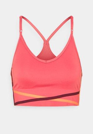 INDY BRA - Reggiseno sportivo con sostegno leggero - archaeo pink/orange frost/dark beetroot/white
