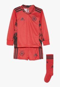 adidas Performance - DEUTSCHLAND DFB TORWART HEIMTRIKOT MINI - Oblečení národního týmu - glory red - 0