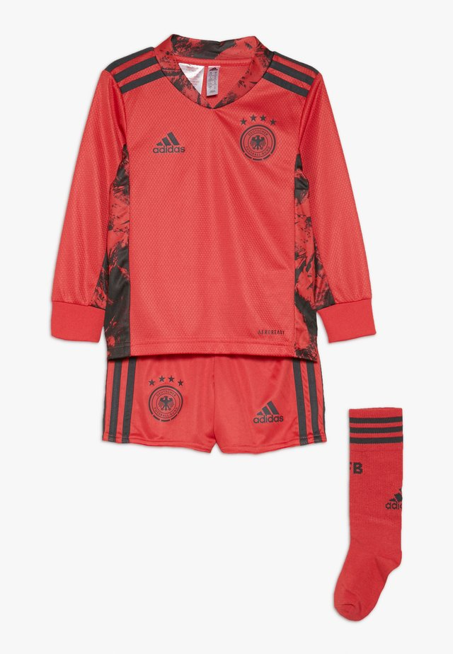 DEUTSCHLAND DFB TORWART HEIMTRIKOT MINI - National team wear - glory red