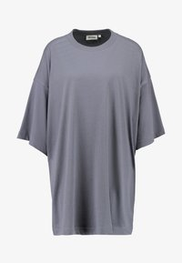 Weekday - HUGE - Žerzejové šaty - grey medium dusty - 5