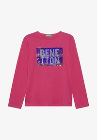 Benetton - Long sleeved top - pink - 2