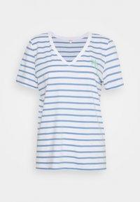 s.Oliver - Print T-shirt - blue lagoon - 0