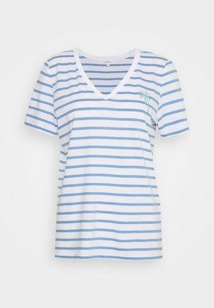 Print T-shirt - blue lagoon