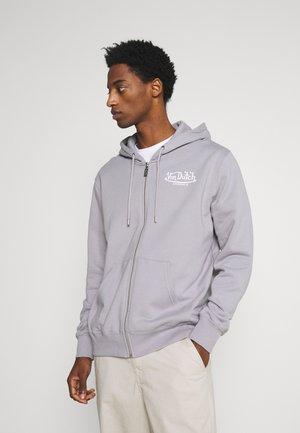 NICKY - Zip-up hoodie - silver sconce