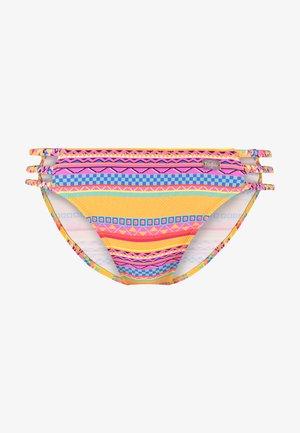 PANTS STRAPS - Bikini bottoms - yellow