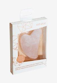 ZOË AYLA - GUA SHA (ROSE QUARTZ) - Akcesoria do pielęgnacji - pink - 1