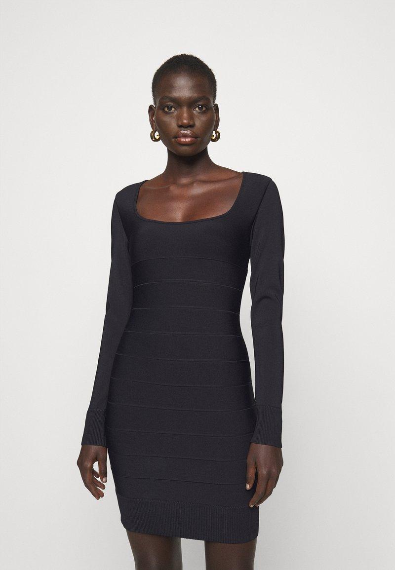 Hervé Léger - DRESS - Sukienka etui - black