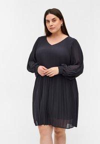 Zizzi - Day dress - dark grey - 0