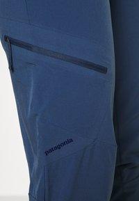 Patagonia - CHAMBEAU ROCK PANTS - Kangashousut - dolomite blue - 4
