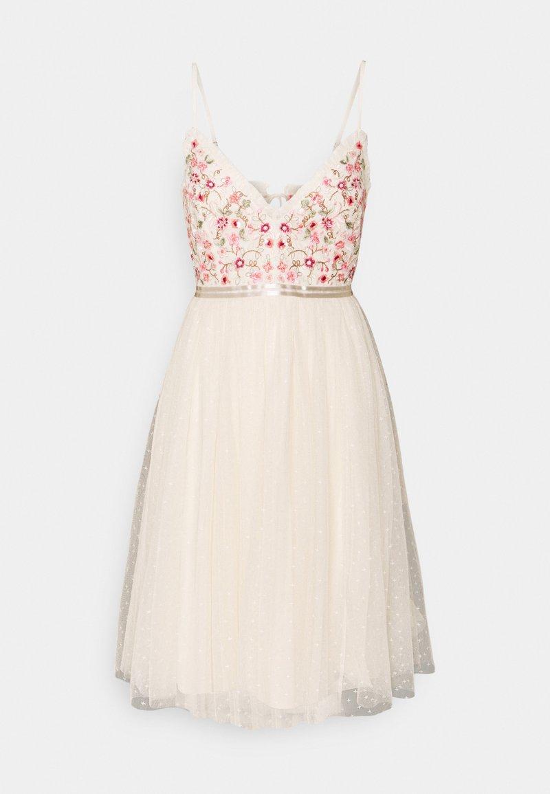 Needle & Thread - ELSIE CAMI MIDI DRESS - Cocktail dress / Party dress - champage