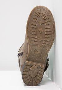 Mustang - Cowboy/Biker boots - taupe - 5