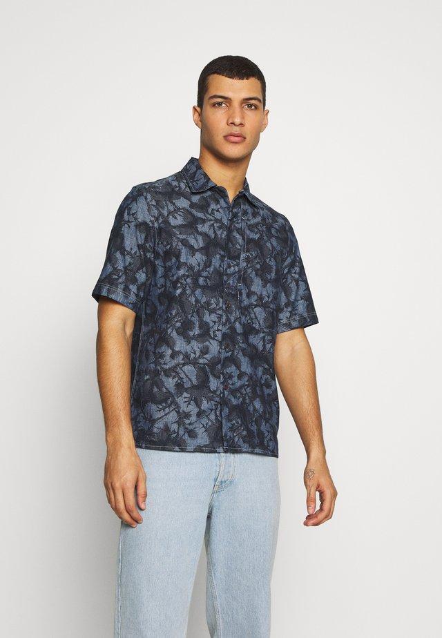 STALT SERVICE - Overhemd - rinsed/mazarine blue