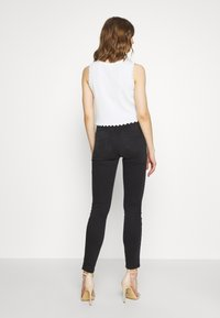 Diesel - D-ROISIN-HIGH - Jeans Skinny Fit - washed black - 2