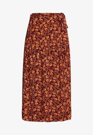 BSPRIA SKIRT - A-line skirt - bordeaux