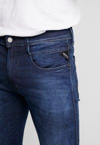 Replay - ANBASS HYPERFLEX CLOUDS - Jeans slim fit - dark blue - 3