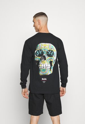 CALAVERA TEE - Long sleeved top - black