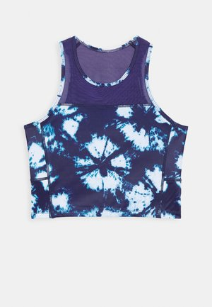 CROPPED TANK TIE DYE - Topper - astral aura