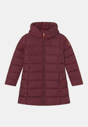 MEGA GINNY - Winter coat - wine red