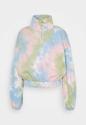 LADIES TIE DYE - Sudadera - pink/multi-coloured