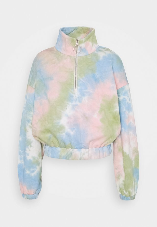 LADIES TIE DYE - Sweater - pink/multi-coloured