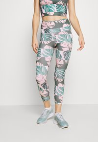 Nike Performance - FAST CROP RUNWAY - Leggings - pink - 0