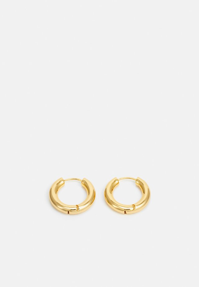 VINTAGE COLLECTION CHUNKY HOOPS - Øreringe - gold-coloured