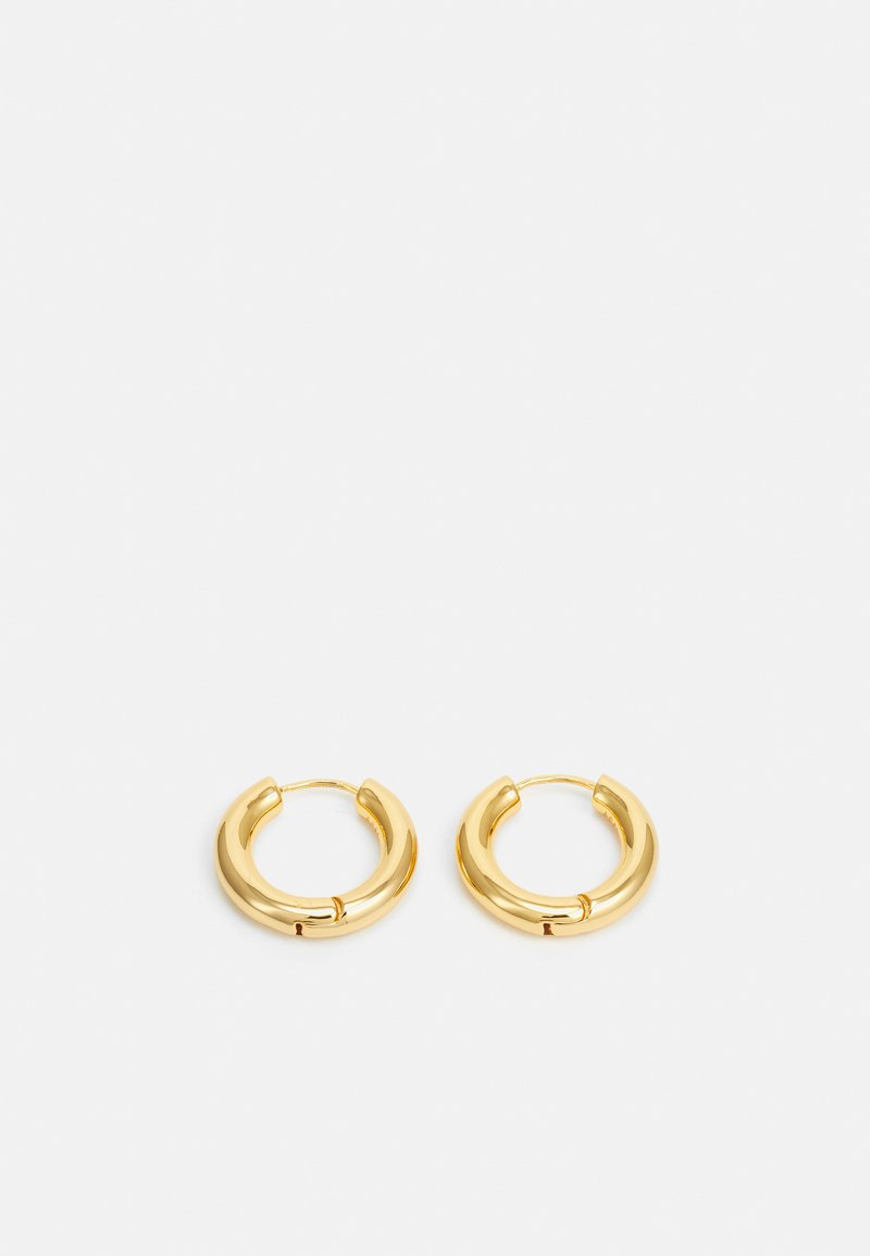 Astrid & Miyu - VINTAGE COLLECTION CHUNKY HOOPS - Náušnice - gold-coloured