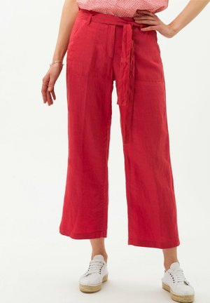 STYLE MAINE - Trousers - coral