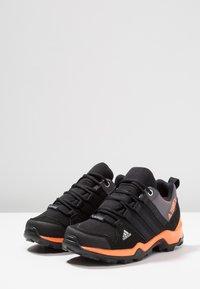 adidas Performance - TERREX AX2R RAIN.RDY - Hiking shoes - core black/hi-res orange - 3