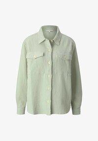 TOM TAILOR DENIM - Button-down blouse - light dusty green - 4