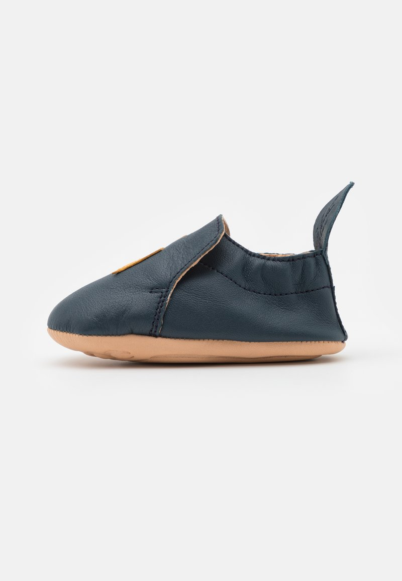 Shoo Pom - FLASH UNISEX - First shoes - navy/maïs