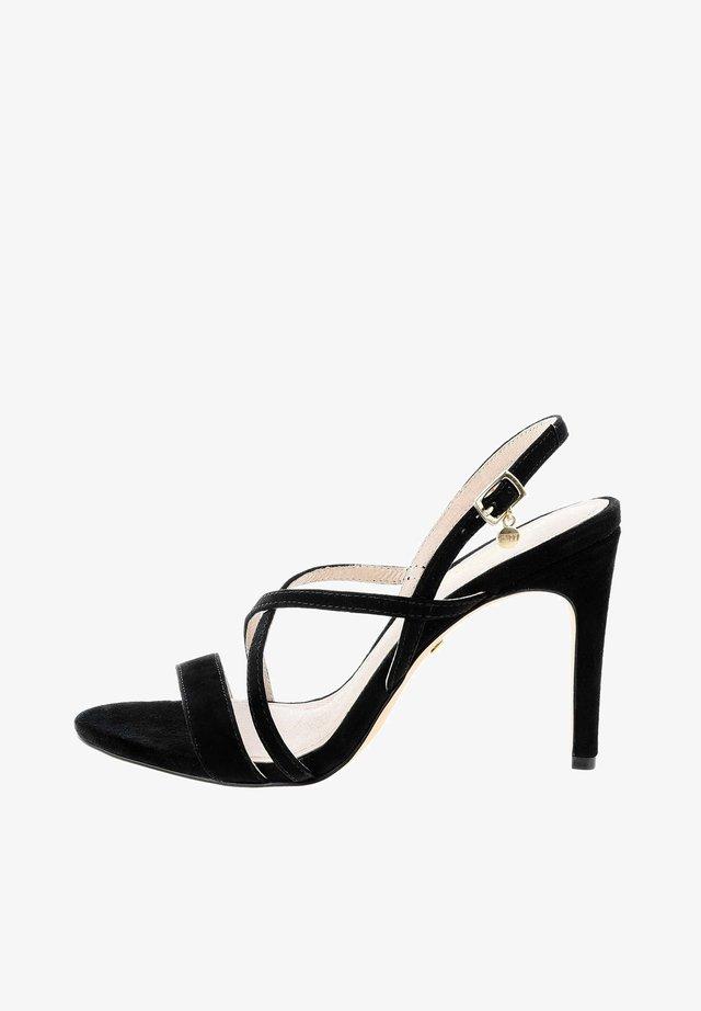 VALVERDE  - Sandály na vysokém podpatku - black