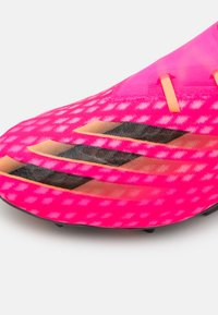 adidas Performance - X GHOSTED.2 FG - Moulded stud football boots - shock pink/core black/screaming orange - 5