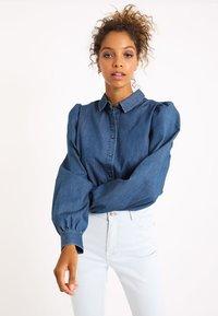 Pimkie - Button-down blouse - dunkelblau - 0