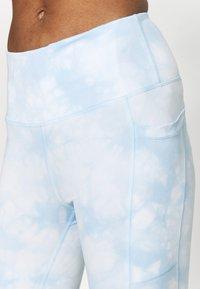 Cotton On Body - LOVE YOU A LATTE 7/8 - Punčochy - baby blue - 4