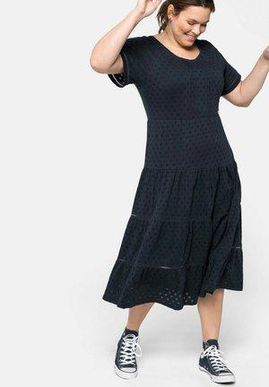 Jersey dress - nachtblau