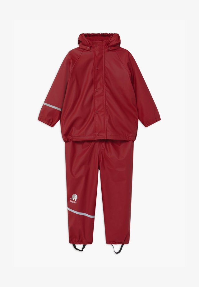 RAINWEAR SET UNISEX - Regenbroek - rio red