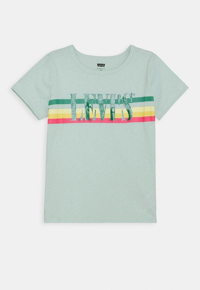 GRAPHIC TEE UNISEX - Print T-shirt - grey