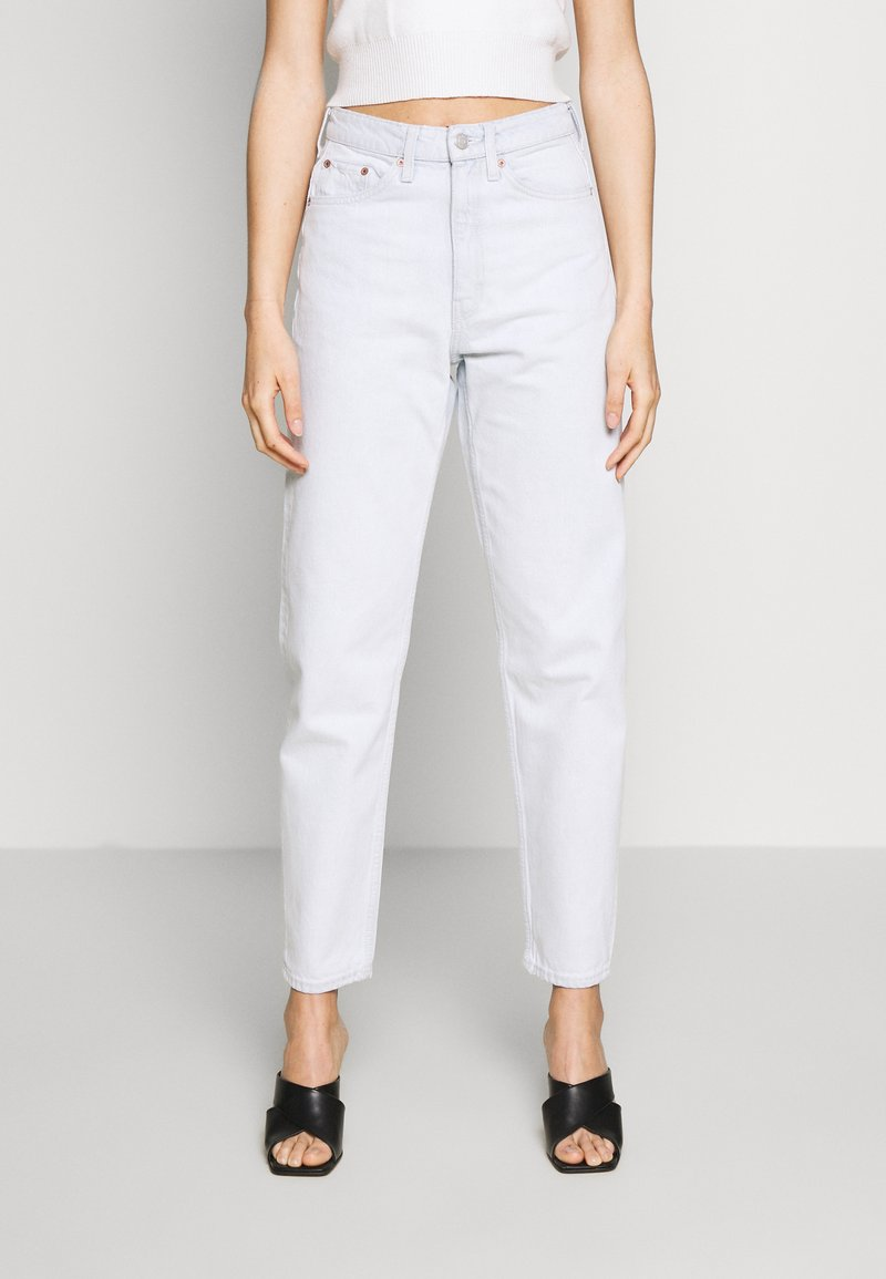 Weekday - LASH EXTRA HIGH MOM ECHO - Jeans Tapered Fit - bleached blue