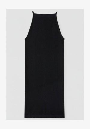 Etui-jurk - mottled black